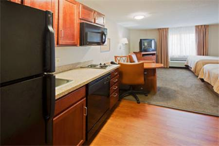 Photo of guestrooms at Candlewood Suites Ft. Lauderdale Air/Seaport
