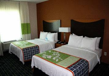 Photo of guestrooms at Fairfield Inn & Suites Fort Lauderdale Airport & Cruise Port